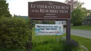 Church Sign Ref. 500